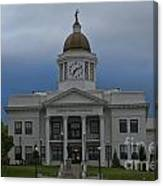 Jackson County Courthouse North Carolina Canvas Print