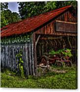 Jackson Garage Canvas Print