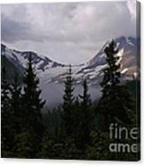 Jackson Glacier Canvas Print