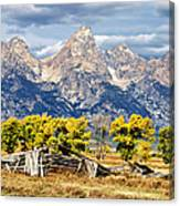 Jackson Hole Canvas Print