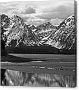 Jackson Lake Grand Teton National Park Canvas Print