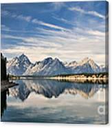 Jackson Lake Canvas Print
