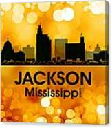 Jackson Ms 3 Canvas Print