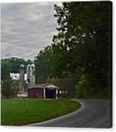 Jackson's Sawmill Covered Bridge Canvas Print