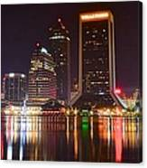 Jacksonville Aglow Canvas Print