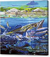 Jacksonville Kingfish Off0088 Canvas Print