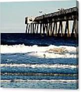 Jacksonville Pier Canvas Print