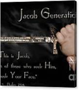 Jacob Generation Canvas Print