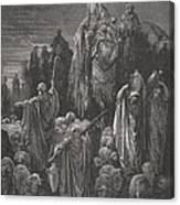 Jacob Goeth Into Egypt Canvas Print