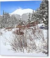Jacque Peak Canvas Print