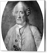 Jacques De Vaucanson (1709-1782) Canvas Print
