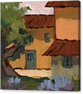 Jacques Farm In Provence Canvas Print
