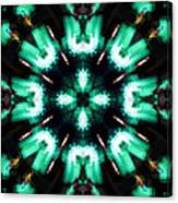 Jade Reflections - 4 Canvas Print