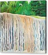 Jagala Waterfalls  Canvas Print