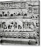 Jagdish Temple Sculpture Canvas Print