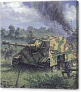 Jagdpanther In Normandy 1944 Canvas Print