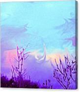 Jagged Sky Canvas Print
