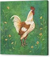 Jagger The Rooster Canvas Print