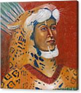 Jaguar Knight Popoca Canvas Print