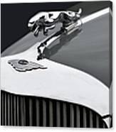 Jaguar Mk Ix Hood Canvas Print