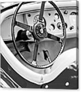 Jaguar Steering Wheel 2 Canvas Print