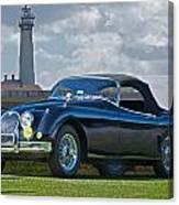 Jaguar Xk120 Roadster Canvas Print