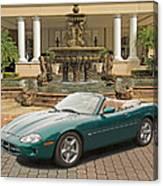 Jaguar Xk8 Canvas Print
