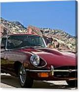 Jaguar Xke Canvas Print