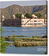 Jah Mahal Palace Canvas Print
