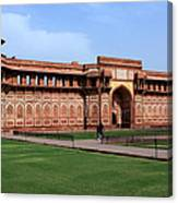 Jahangir Palace Red Fort Agra Canvas Print