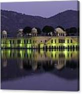 Jai Mahal Water Palace Canvas Print