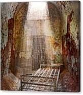 Jail - Eastern State Penitentiary - 50 Years To Life Canvas Print