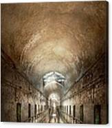 Jail - Eastern State Penitentiary - End Of A Journey Canvas Print