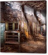 Jail - Eastern State Penitentiary - Sick Bay Canvas Print