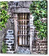 Jail Room Window Canvas Print