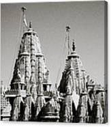 Jain Temple Towers Canvas Print