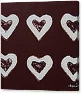 Jam-filled Cookies Canvas Print