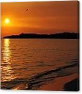 Jamaica Sunset Canvas Print