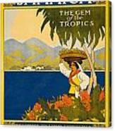 Jamaica The Gem Of The Tropics Canvas Print