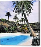 Jameos Del Agua On Lanzarote Canvas Print