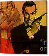 James Bond Canvas Print