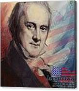 James Buchanan Canvas Print
