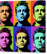 James Dean 006 Canvas Print