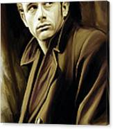 James Dean Artwork Canvas Print