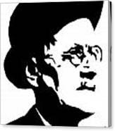 James Joyce Famous Irish Writer Canvas Print