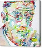 James Joyce Portrait.1 Canvas Print