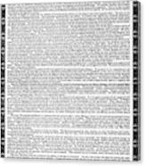 James Madison Memorial Canvas Print