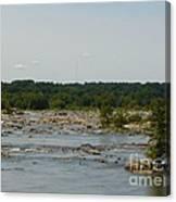 James River Canvas Print