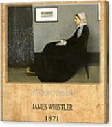 James Whistler 1 Canvas Print