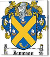 Jameson Coat Of Arms Galway Ireland Canvas Print